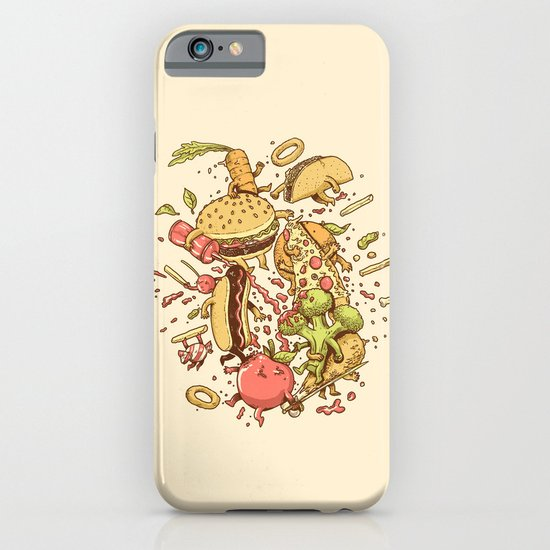 Food Fight iPhone & iPod Case