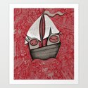 The Treacherous Journey Art Print