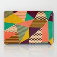 Geometric Love II iPad Case