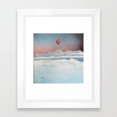 L'appiglio Framed Art Print