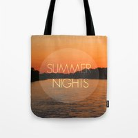 Summer Nights Tote Bag