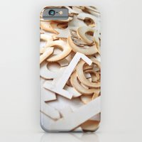 iPhone & iPod Case featuring Random Numbers by Grace Breyley