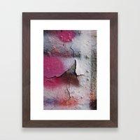 Pink Rumble Framed Art Print