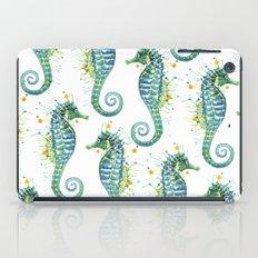 Seahorse: Green iPad Case