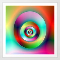 Torus Without And Within… Art Print