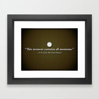 This Moment Framed Art Print