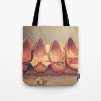 Vintage Shoes And Heels  Tote Bag
