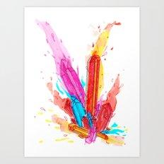 Dynamede Art Print
