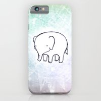 iPhone & iPod Case featuring My Elephant by Stylistic
