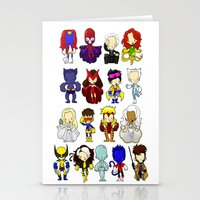 X MEN GROUP Stationery Cards