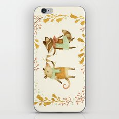 Cheers! From Pinknose the Opossum & Riley the Raccoon iPhone & iPod Skin