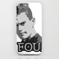 iPhone & iPod Case featuring Divergent: Four by Flash Goat Industries