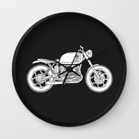 BMW R80 - Cafe Racer series #4 Wall Clock