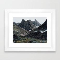 Arrigetch Framed Art Print