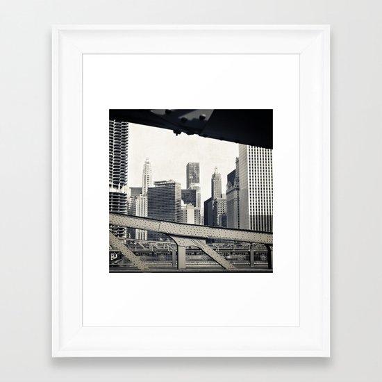 Chicago III Framed Art Print
