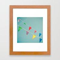A Celebration Framed Art Print