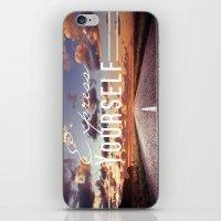 Express Yourself iPhone & iPod Skin