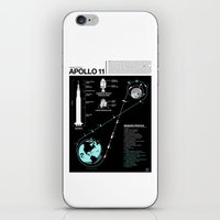 Apollo 11 Mission Diagram iPhone & iPod Skin