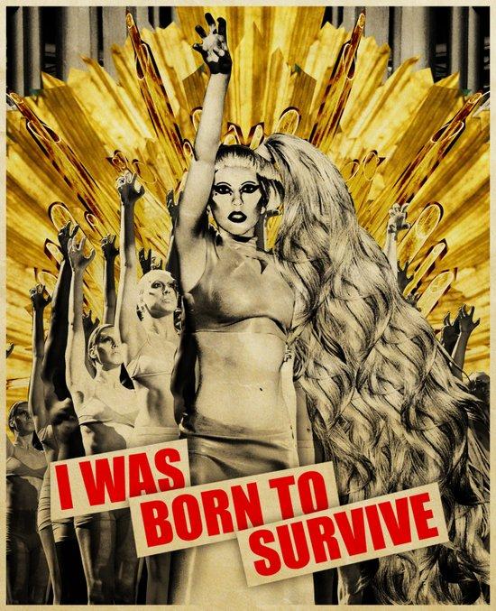 Born To Survive Art Print