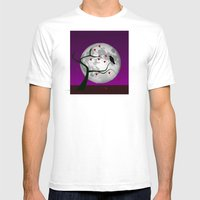 Lonely Portend Mens Fitted Tee White SMALL