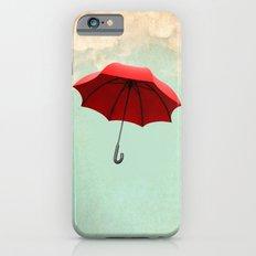 Red Umbrella iPhone 6 Slim Case