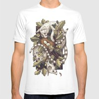 Spades Mens Fitted Tee White SMALL