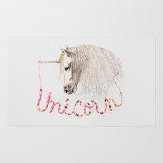 Pink Unicorn Rug