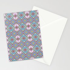 Funky Retro Pattern Stationery Cards