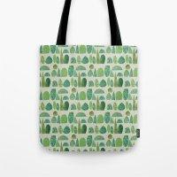 Watercolour Topiary Tote Bag