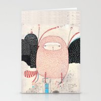 dance Stationery Cards featuring raccoon dance by Nayoun Kim