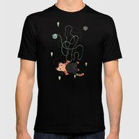 Playing Mens Fitted Tee Black SMALL