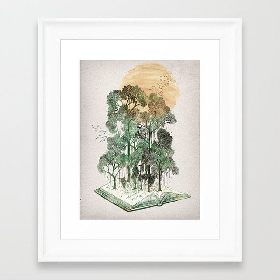 Jungle Book Framed Art Print