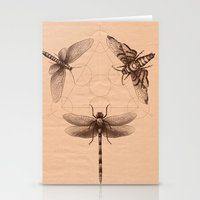 Dark Insect's Black Magic Stationery Cards