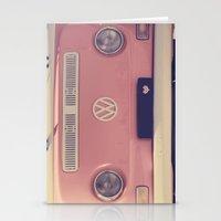 VW camper van Stationery Cards