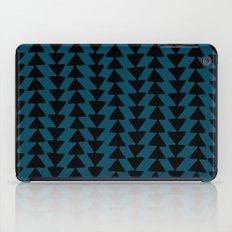 Blue Arrows iPad Case