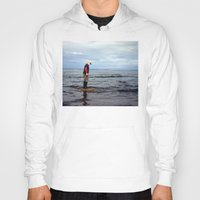 A boy and The Sea 2 Hoody