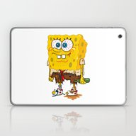 Laptop & iPad Skin featuring SpongeSlob DirtyPants by Chris Piascik