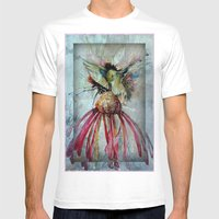 Humming Bird Mens Fitted Tee White SMALL