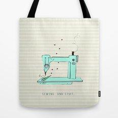 sew and stuff... Tote Bag