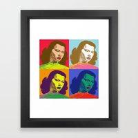 4 Chinese Girls Framed Art Print