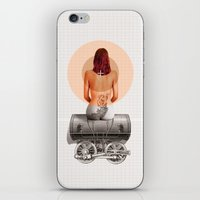 Traveling with loneliness iPhone & iPod Skin
