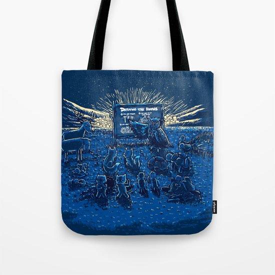 Night Class Tote Bag