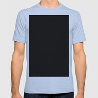 Don't worry be happy Mens Fitted Tee Athletic Blue SMALL