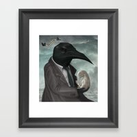 The Father Framed Art Print