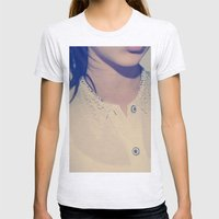 BLOUSE Womens Fitted Tee Ash Grey SMALL