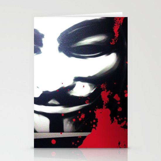 VENDETTA for IPhone Stationery Card
