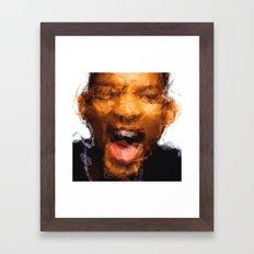 Will Smith Framed Art Print