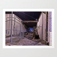 AlleyWay Art Print