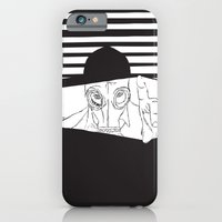 Man In The Mask -Watchin… iPhone 6 Slim Case