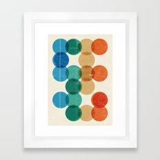 Cells I Framed Art Print